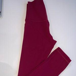 "Lululemon align pants 25"" size 2"